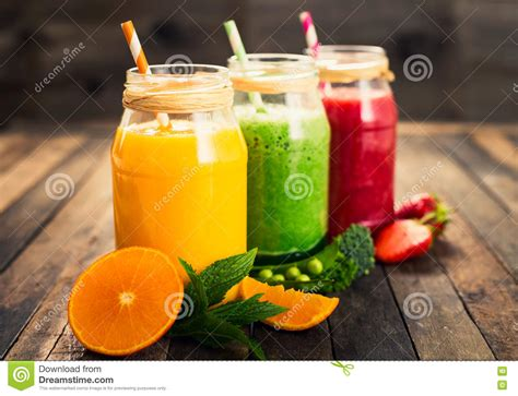 fruit and vegetable smoothie healthy fruit and vegetable smoothies stock photo image