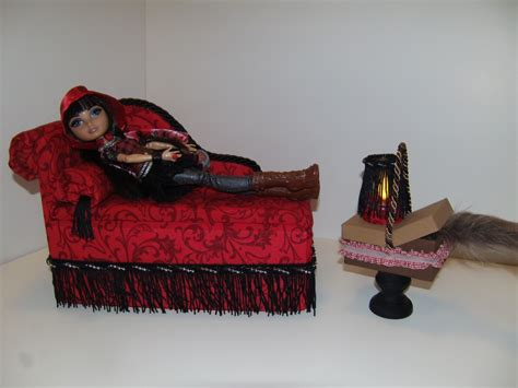 ever after high bedding furniture for ever after high dolls handmade chaise lounge bed