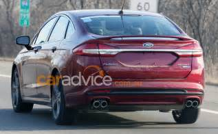 Ford Sport 2017 Ford Mondeo Sport Spied Without Disguise Turbo V6