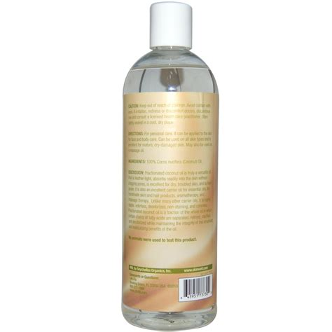 skin coconut skin care fractionated coconut 16 fl oz 473 ml flo health ebay