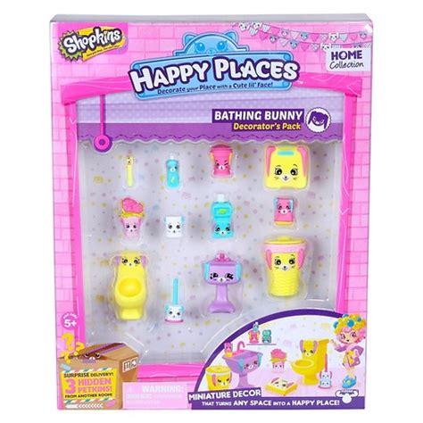 Shopkins Puppy Decorator Pack Original happy places shopkins decorator pack bathing bunny target