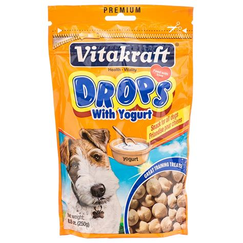 yogurt treats vitakraft yogurt drops treats
