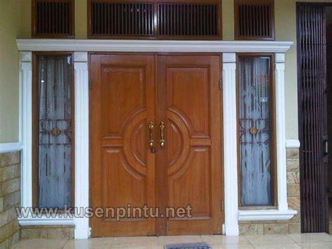 desain pintu rumah modern dan jendela kusen pintu jendela