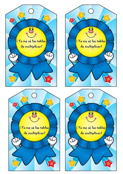 imagenes medallas infantiles fichas de multiplicaciones para primaria