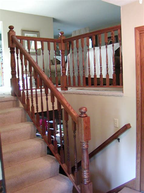 oak banister oak railing group picture image by tag