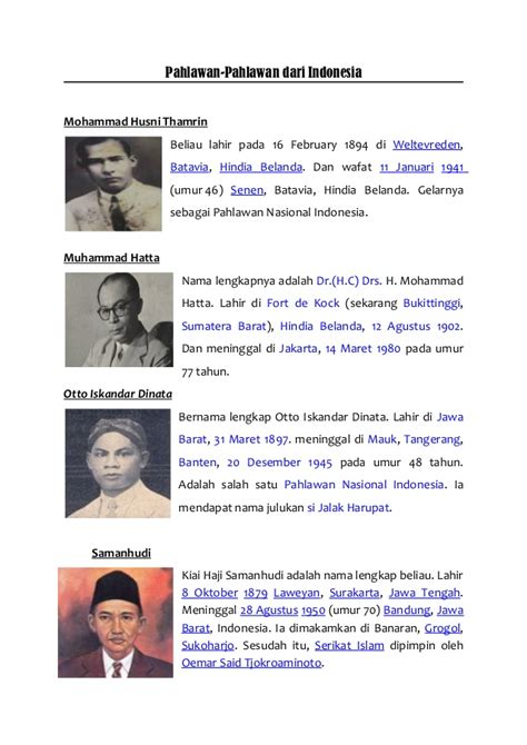 Pahlawan Pahlawan Perdamaian Djilid 1 pahlawan pahlawan indonesia 2