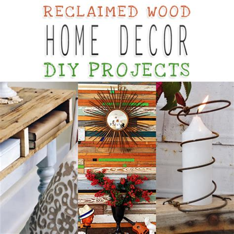 Diy Wood Home Decor Reclaimed Wood Home Decor Diy Projects The Cottage Market