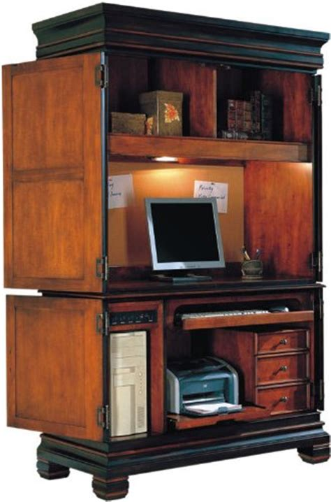 cheap discount computer armoire furniture cherry and