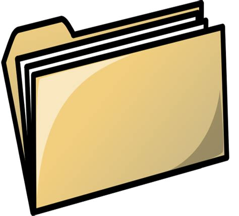 free clip files file folder clip