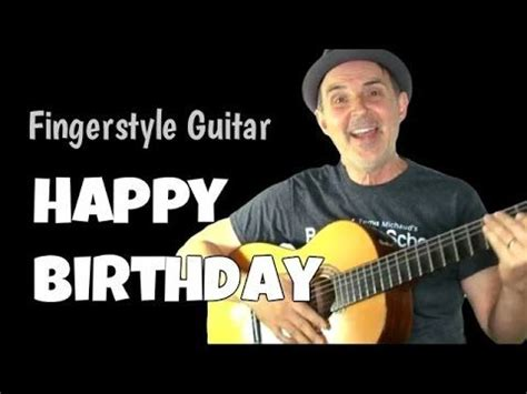 fingerstyle tutorial of photograph play happy birthday fingerstyle guitar fingerpicking