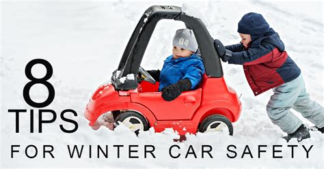 8 Tips For Winter by 8 Tips For Winter Car Safety