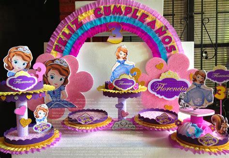 adornos de sofia decoraciones infantiles princesita sofia