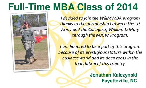 Part Time Mba Nc State by Why We Chose W M