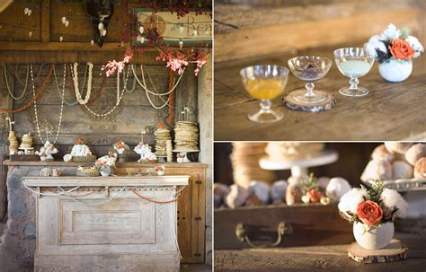 snowed in a diy winter wedding idea and a stylized breakfast table atelier christine - Do It Yourself Winter Wedding Decorations