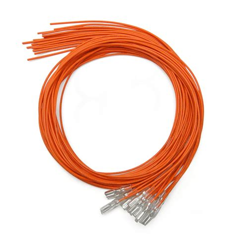 orange 16pc 22 awg wire with 110 disconnect