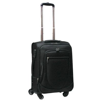 Hair Dryer In Cabin Luggage Ryanair buy tesco 4 wheel expandable suitcase black small from our luggage range tesco