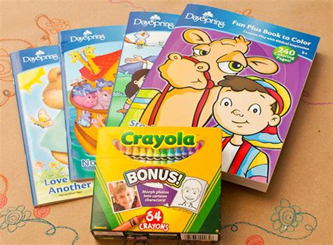 coloring book and crayons the ultimate frugal guide children