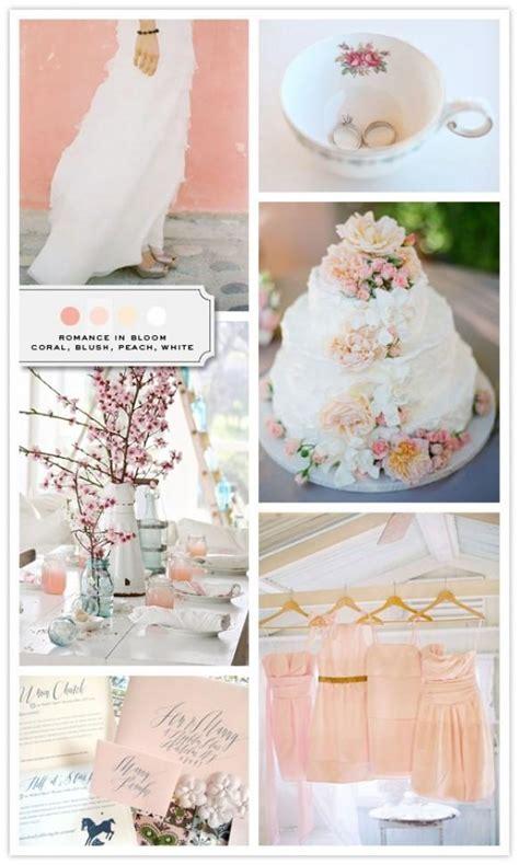 peach wedding peach wedding color palettes 798590