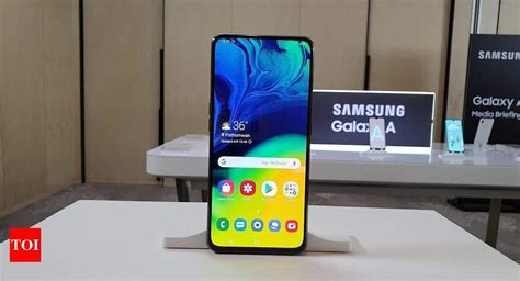 Samsung Galaxy A80 Launch Event by Samsung A80 Samsung Galaxy A80 With 48mp Rotating Slider Design Launched All You Need