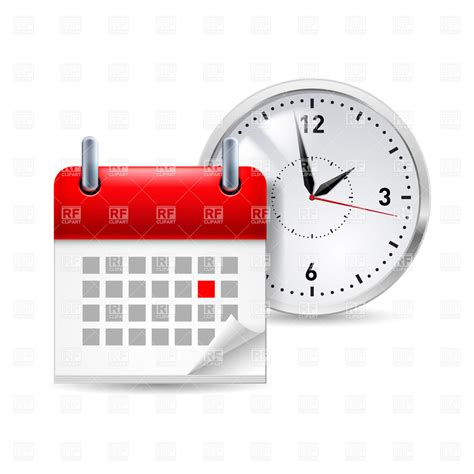 Calendar And Clock Time Icon With Calendar And Clock It 30574 Icons