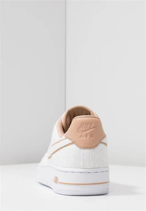 sneaker nike damen air force   lx whitebeige