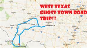 texas ghost towns map a scary road trip through 6 texas ghost towns