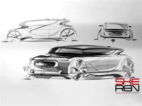 Tutorial Design Car | car sketch and marker technique demo car body design