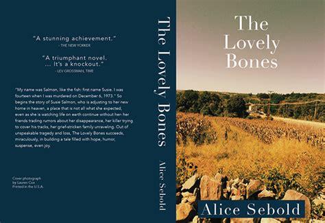 the lovely bones book report the lovely bones book cover redesign on montserrat portfolios