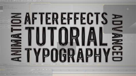 typography effects typography text animation after effects
