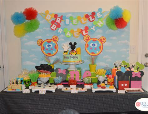 Mickey Mouse Clubhouse 1st Birthday Decorations by Mickey Mouse Clubhouse Birthday Quot Mickey Mouse