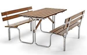 ensemble table et bancs d ext 233 rieur 900018 mobilier urbain