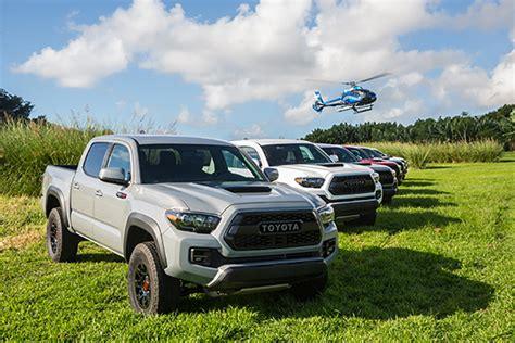Toyota Hawaii 2017 Toyota Tacoma Trd Pro Roading In Hawaii