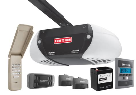 Garage Door Openers Sears Craftsman 53925 3 4 Hp Garage Door Opener Drive Sears Outlet