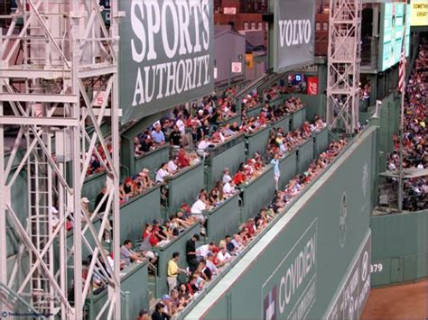 green standing room gallery for gt green fenway seats