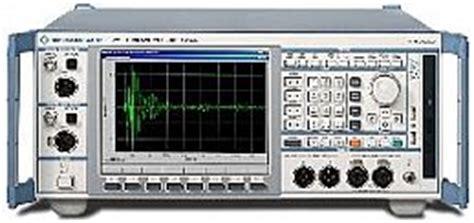 audio file format analyzer used rohde schwarz upv audio analyzer