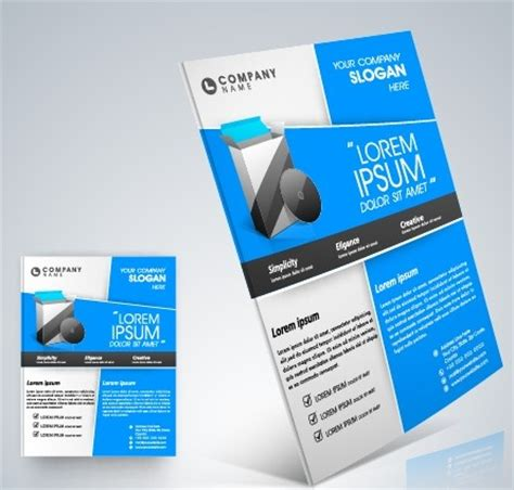 business flyer template free stylish business flyer template design free vector in