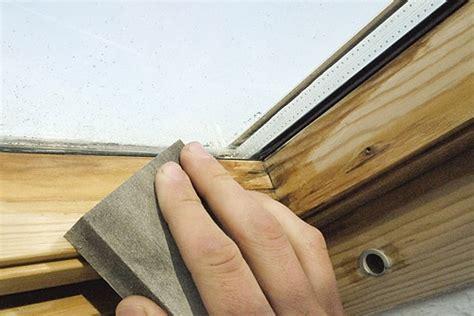 Holz Dachfenster Lackieren by Dachfenster Lasieren Lackieren Bei Wasserschaden Haus