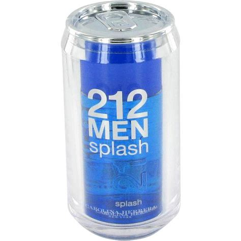 Fragrance 212 Carolina Herrera 212 splash cologne for by carolina herrera
