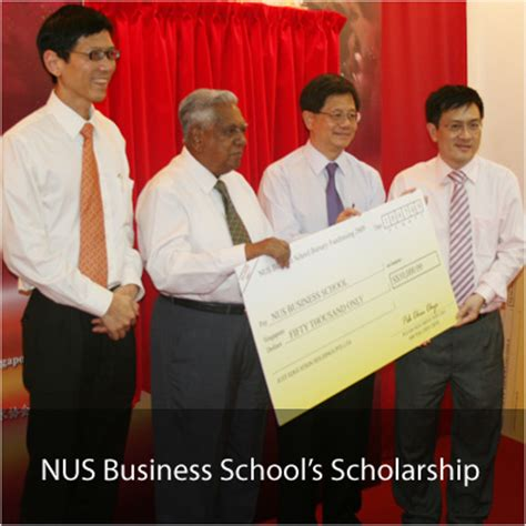 Nus Mba Scholarship corporate social responsibility just edu