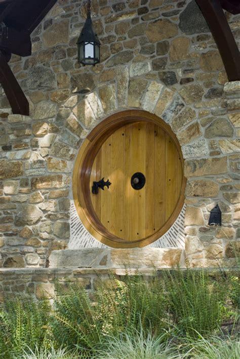 hobbit architecture hobbit house rustic entrance philadelphia by