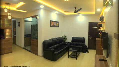 bhk apartment interior design  petals wakad pune