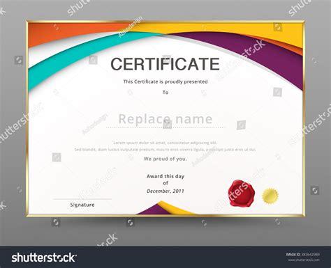 diploma design template modern certificate appreciation template diploma design