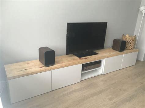 besta tv hack superbe impressionnant meuble tv blanc et bois ikea ikea