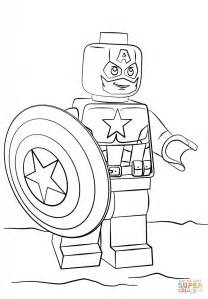 Lego Captain America Coloring Page Free Printable Captain America Printable Coloring Pages