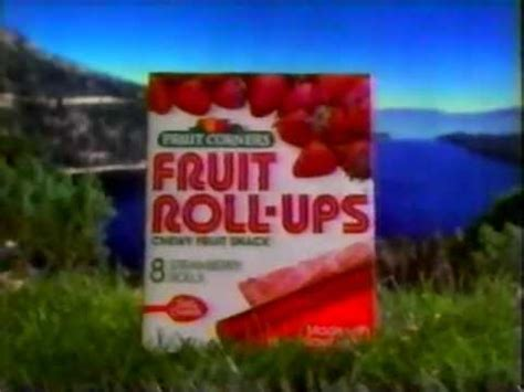 fruit roll ups commercial 1985 fruit corners fruit roll ups commercial