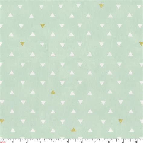 mint and gold bedding mint and gold triangles fabric by the yard gold fabric carousel designs