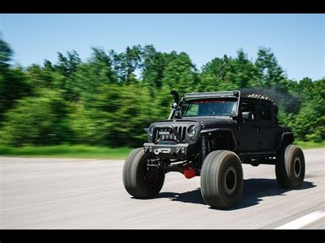 jeep rattle the custom cummin jeep aka rattle trap conquers the off