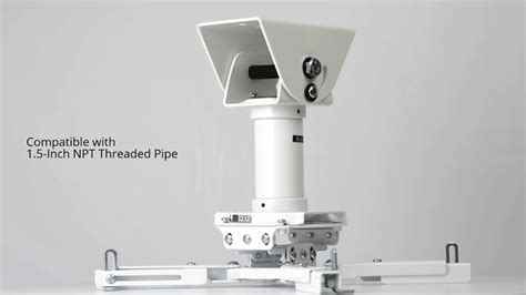qg kit va 3in w projector mount for vaulted cathedral