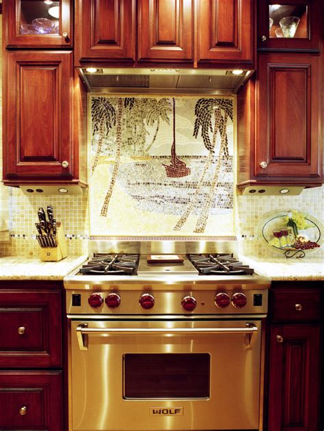 kitchen mosaic backsplash ideas 18 gleaming mosaic kitchen backsplash designs