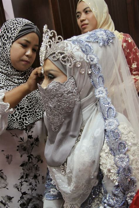 Baju Muslim Arabi model baju pengantin muslim ala arabian 2017